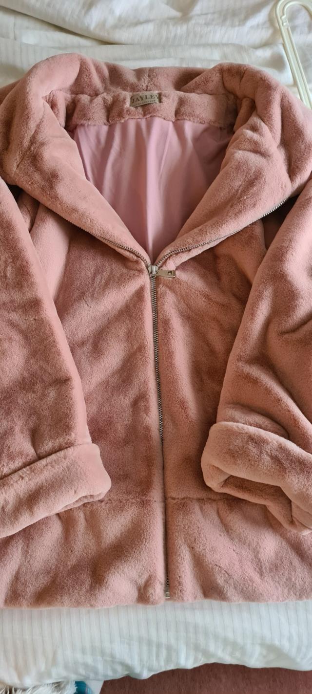 Jayley faux fur jacket