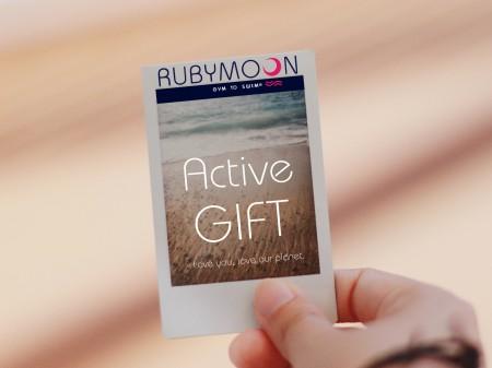 10% de Réduction sur le Chèque Cadeau Rubymoon de 15€