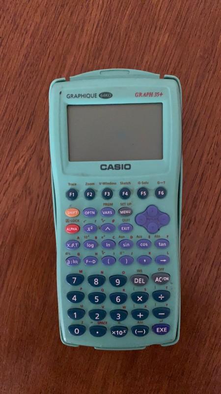 Calculatrice casio lycée