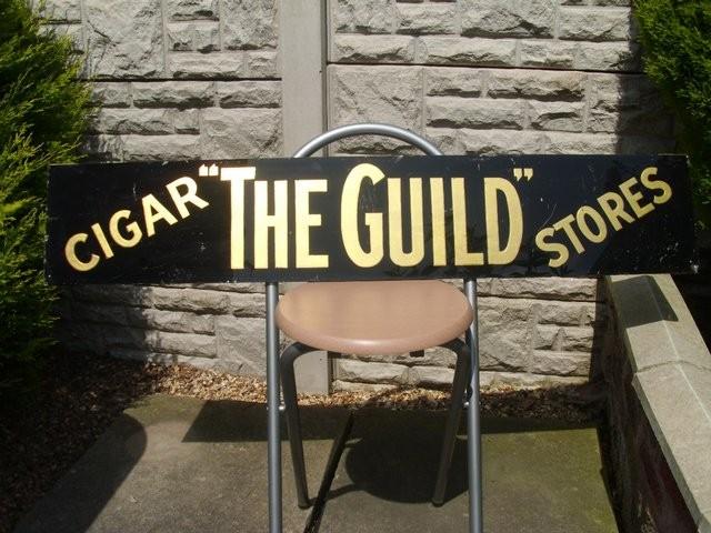 Tobacconist glass Shop sign