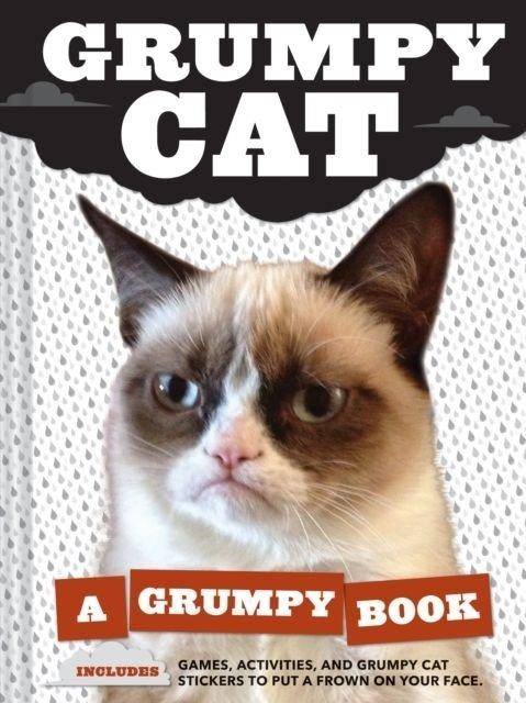 GRUMPY CAT BOOK HARD COVER VGCC FREE DELIVERY