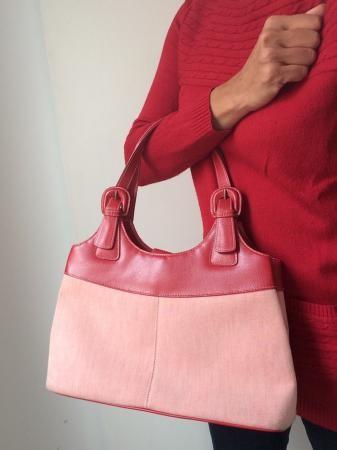 Marks and Spencer red mix handbag