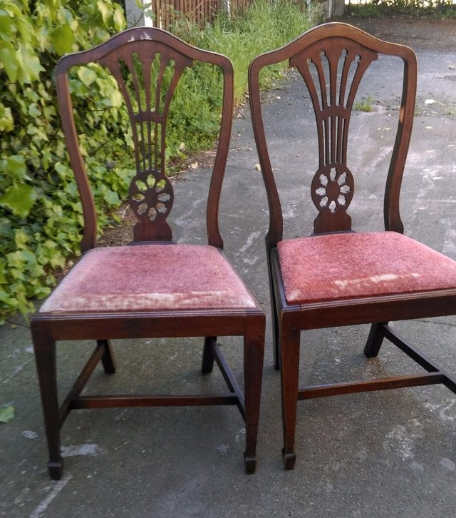 Pair of rare beautiful Antique chairs