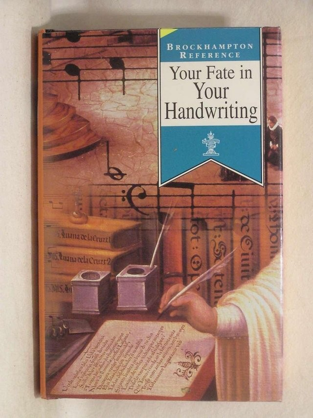YOUR FATE IN YOUR HANDWRITING - BOOK