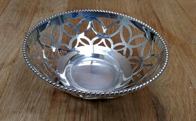 Beautiful Silver Plated Bon Bon Dish
