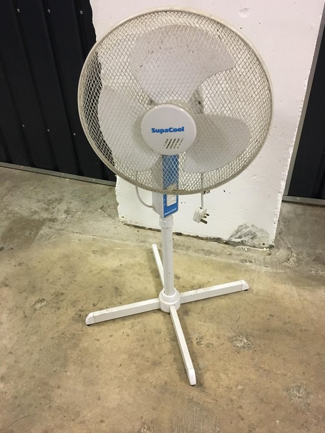 Supacool telescopic pedestal fan