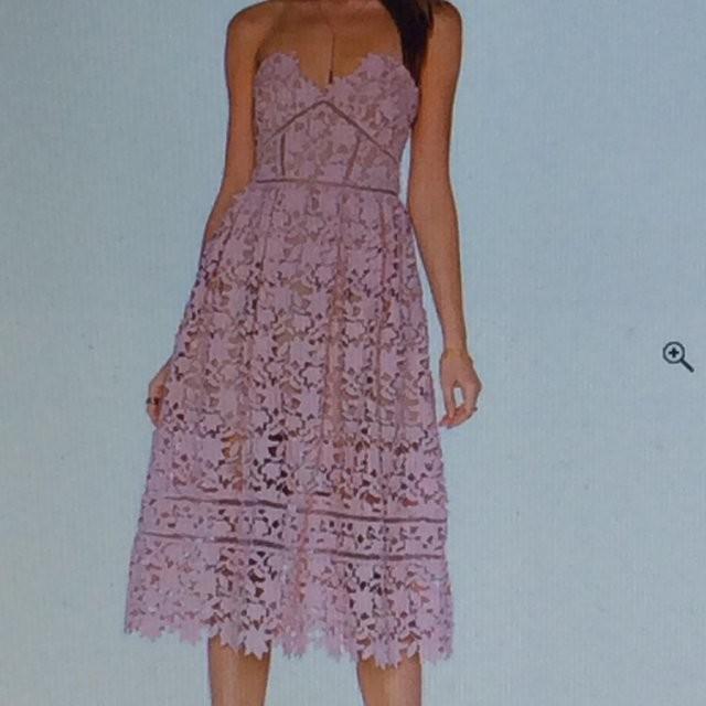 Self-Portrait Azaelea Dress UK10 Blush pink - Reduced again!