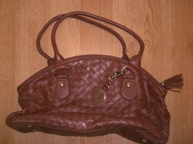 Brown Anne Klein Leather Handbag