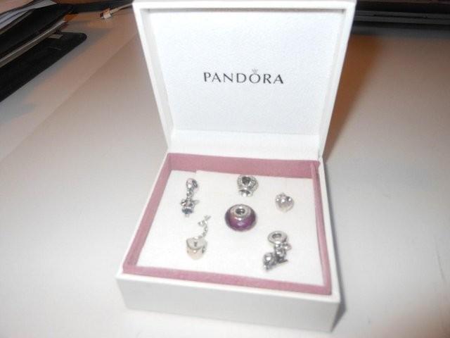 Pandora Silver Charms