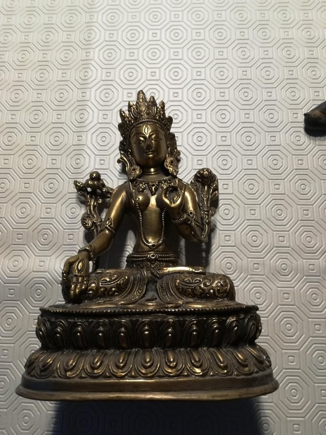 Three Balinese/Indian Religious Statuettes ent