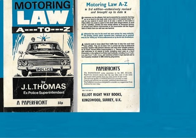 AN A to Z OF MOTORING LAW