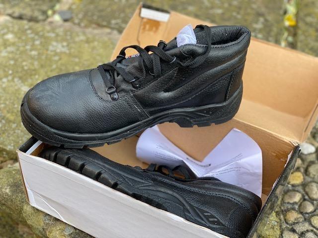 Mens Warrior Safety Boots