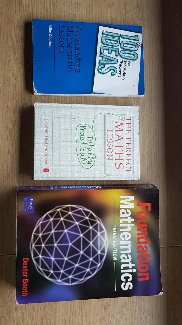Teacher books Maths