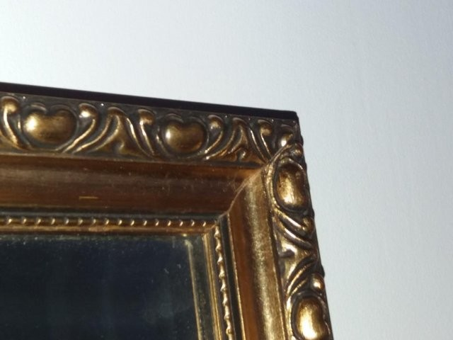 Two 1960's Ornate Gilt Frame Wall Mirrors