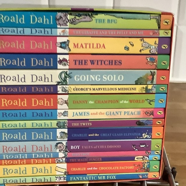 15 Ronald Dahl books