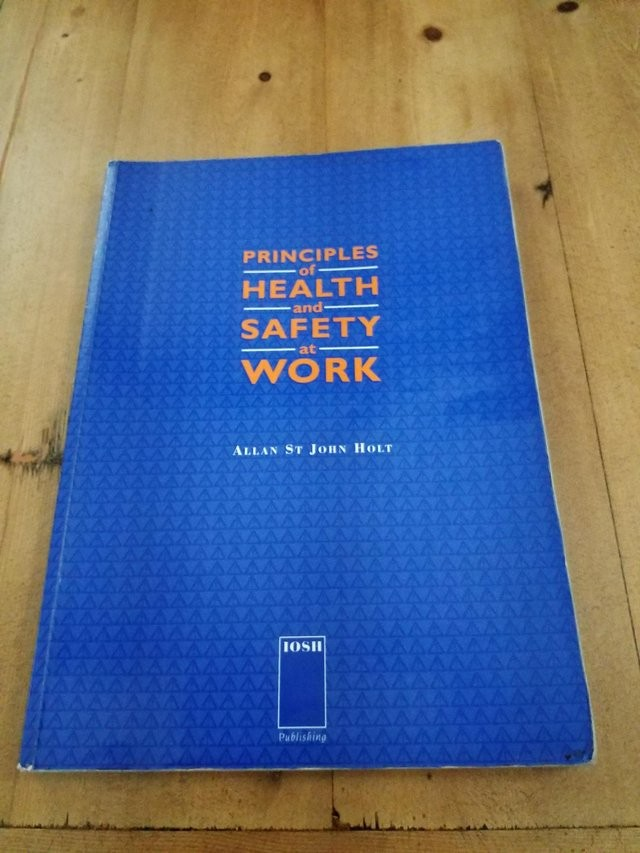 6 HEALTH AND SAFETY BOOKS