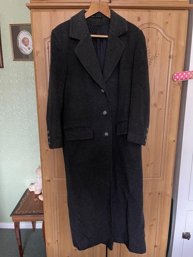 M&S ex long coat