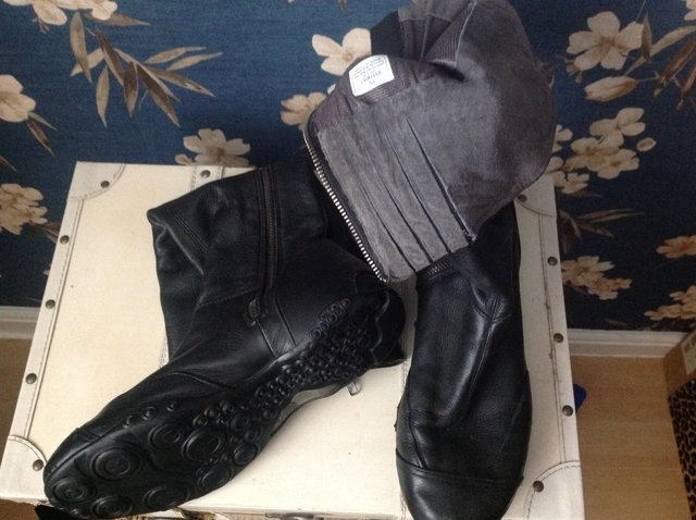 DKNY Leather Boots