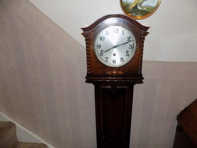 Vintage Grandmother Chiming Clock