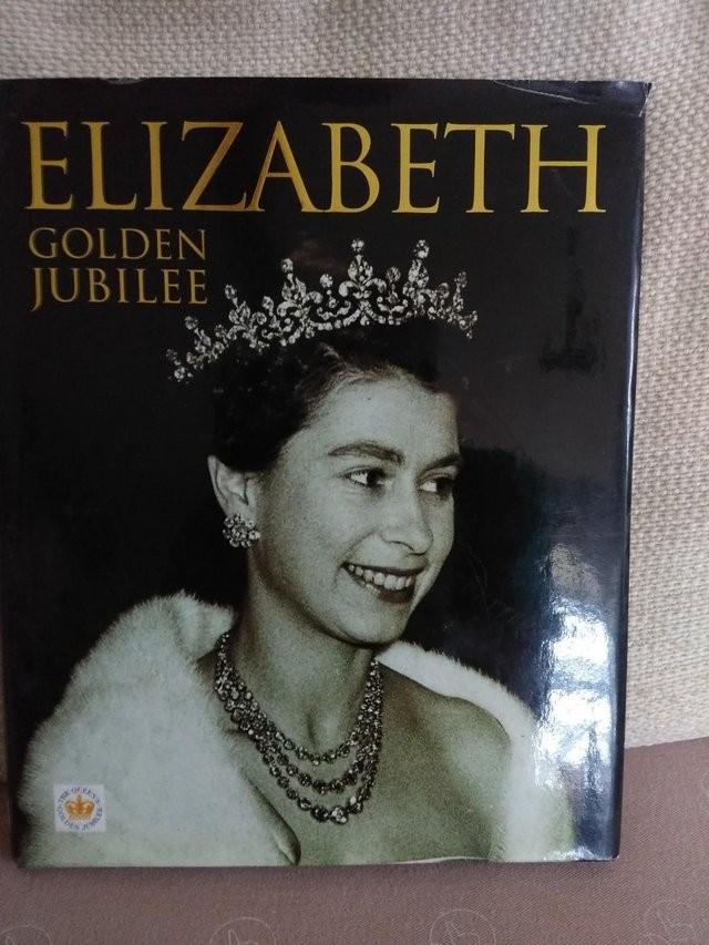 ELIZABETH GOLDEN JUBILEE - HARDBACK