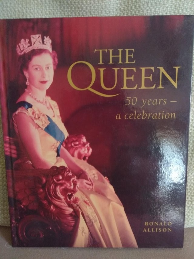 THE QUEEN - 50 YEARS A CELEBRATION - HARDBACK