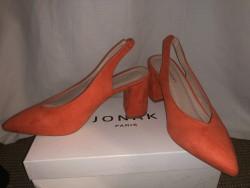 Chaussures à talon en daim taille 38