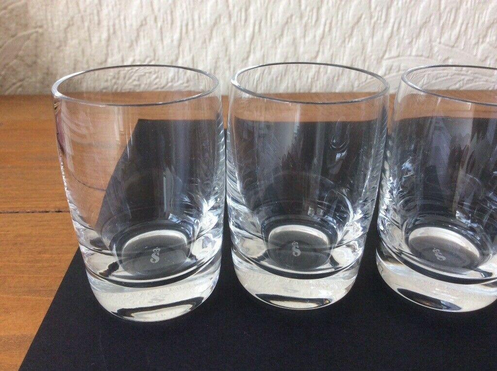 Set of 3 glasses