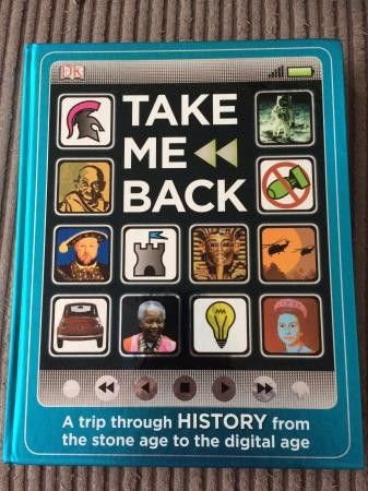 Kid's 'Take me Back' history book