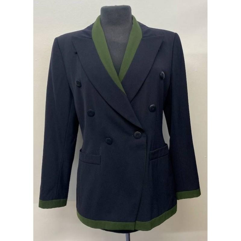 Escada Blazer Jacket Black Size: 36