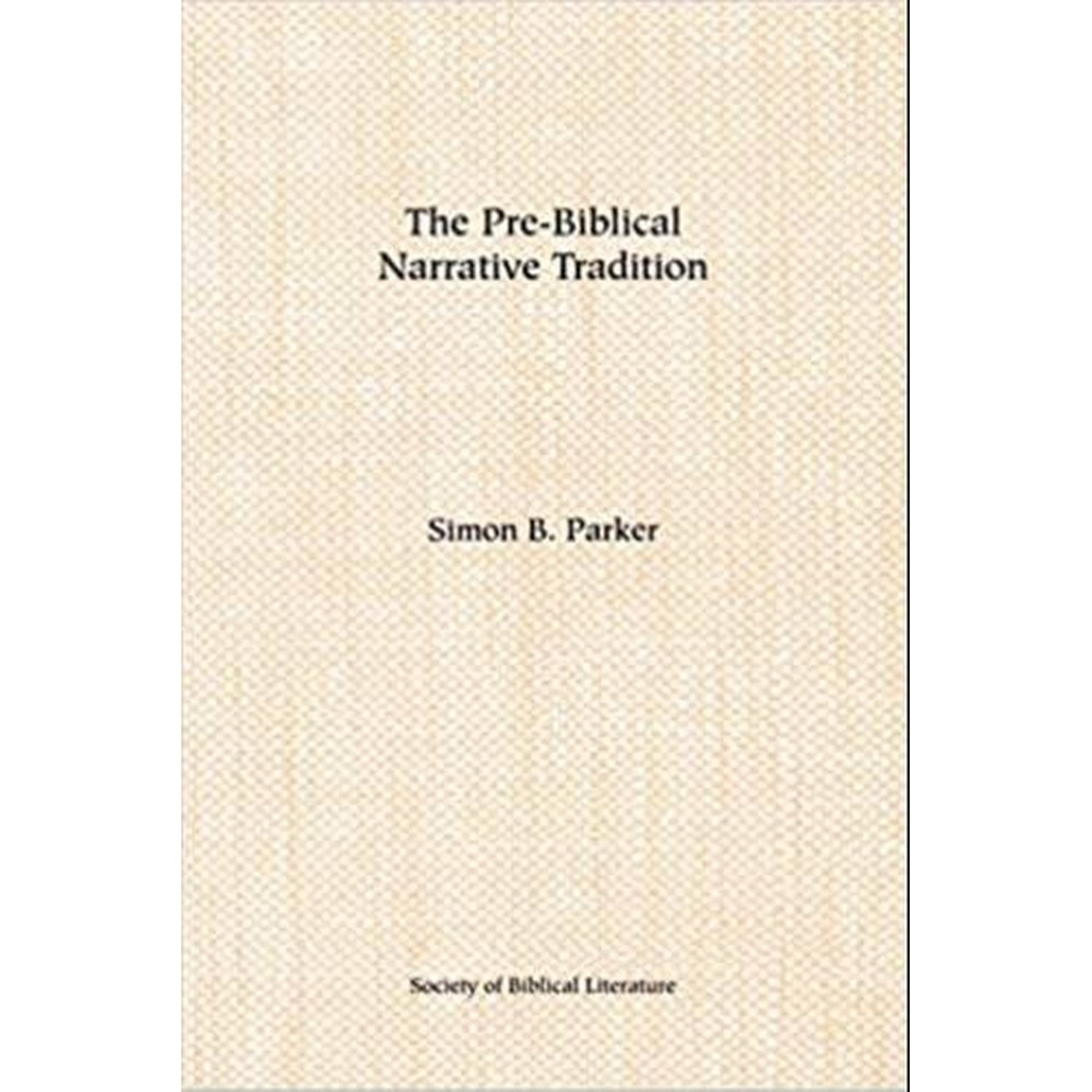 The Pre-Biblical Narrative Tradition