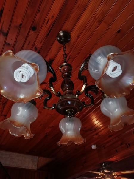 2 Luminaires - Ampoule - style ancien
