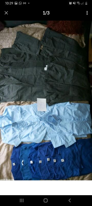 Boys school uniforms size 5-6y