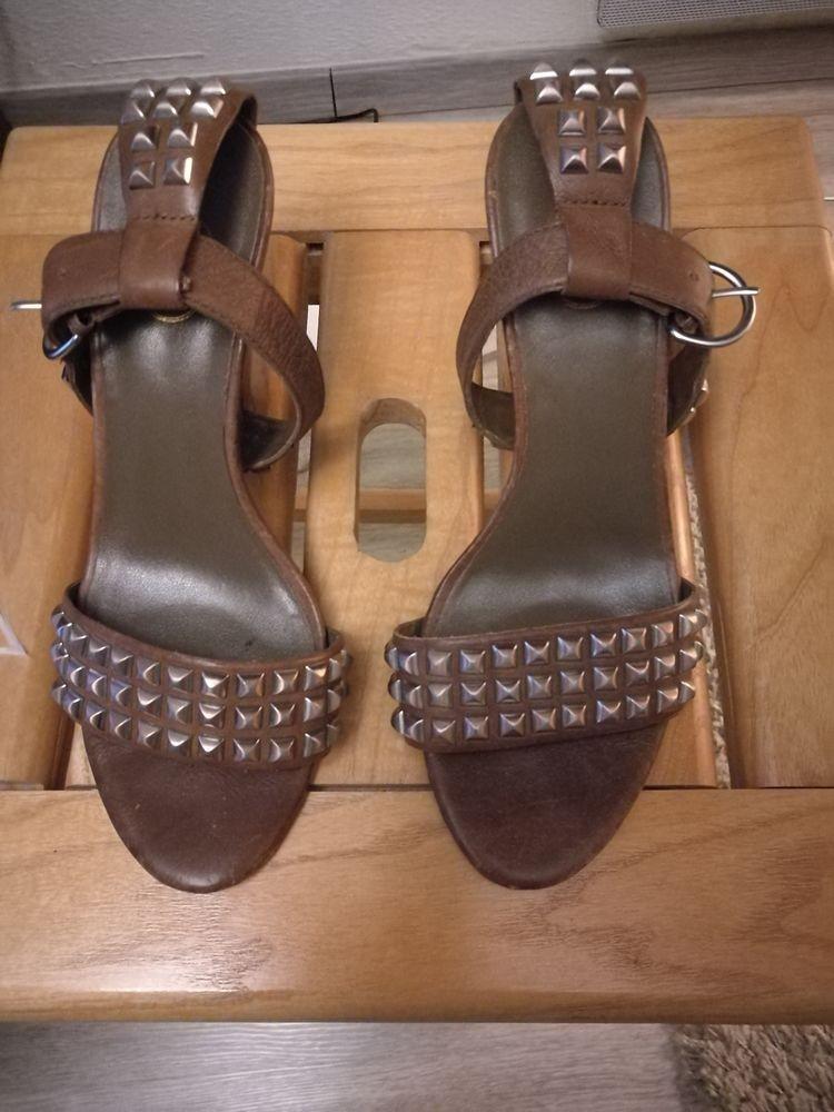 Sandales marrons 38