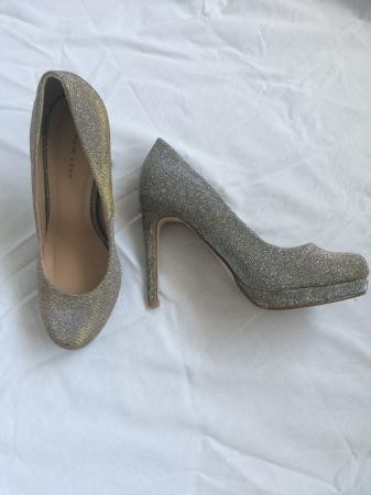 New Look silver/gold heels size 7