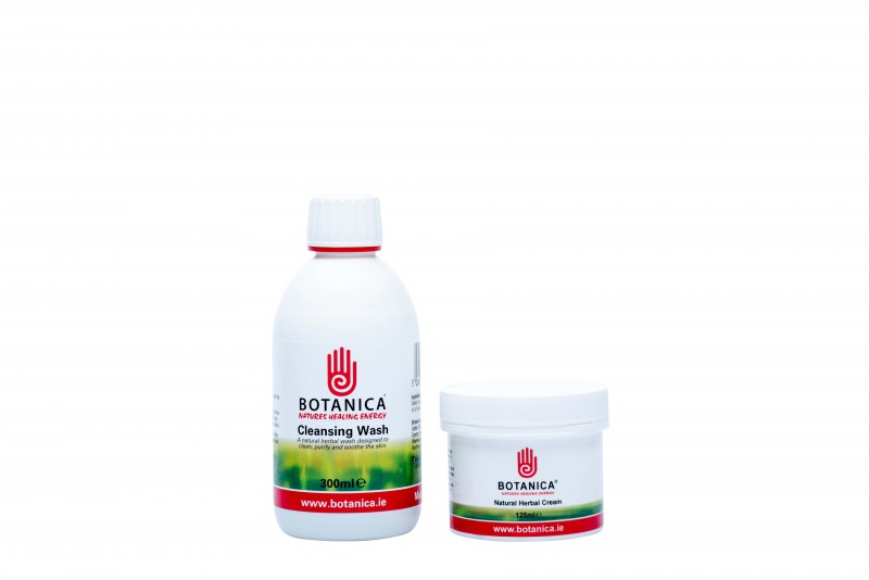 Small Package (125ml Herbal Cream 300ml Cleansing wash)