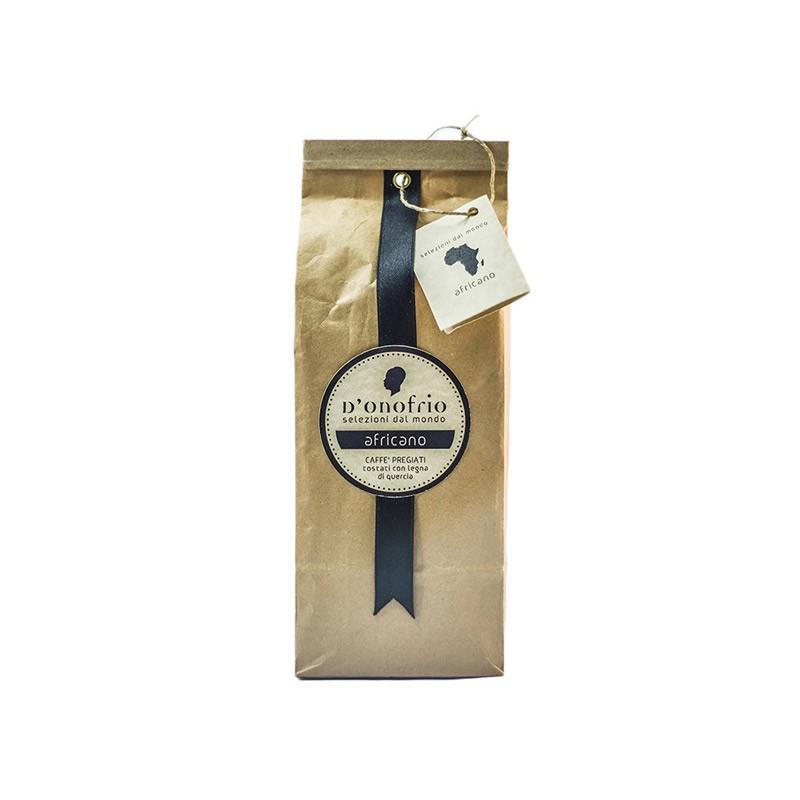 African Selection, Artisan Coffee Moka-Filter 250gr- D'Onofrio Caffè