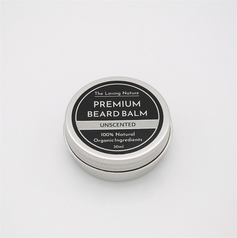 Unscented Beard Balm - Sensitive Skin - 30ml