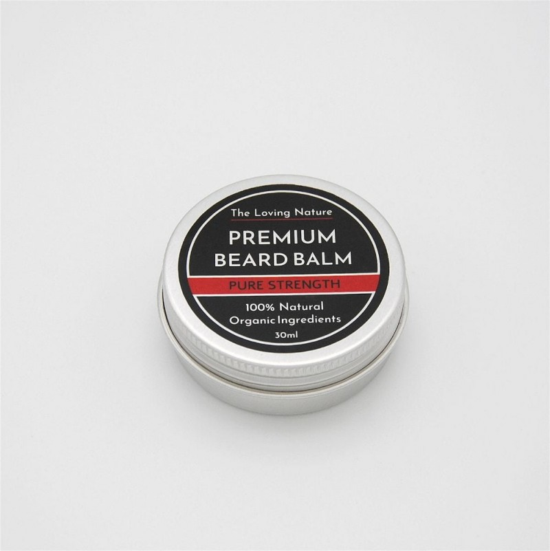Rosemary & Tea Tree Beard Balm - Pure Strength - 30ml