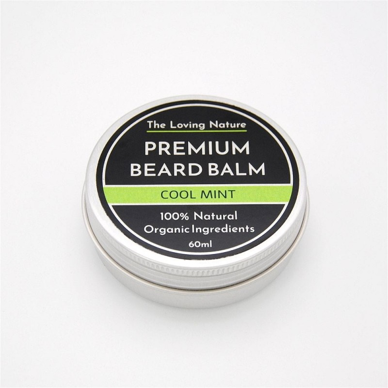 Peppermint Beard Balm - Cool Mint - 60ml