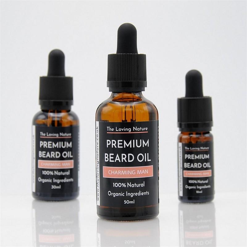 All Natural Premium Beard Oil - Charming Man