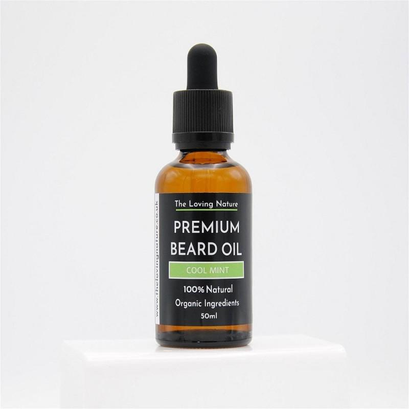 Peppermint Beard Oil - Cool Mint 2