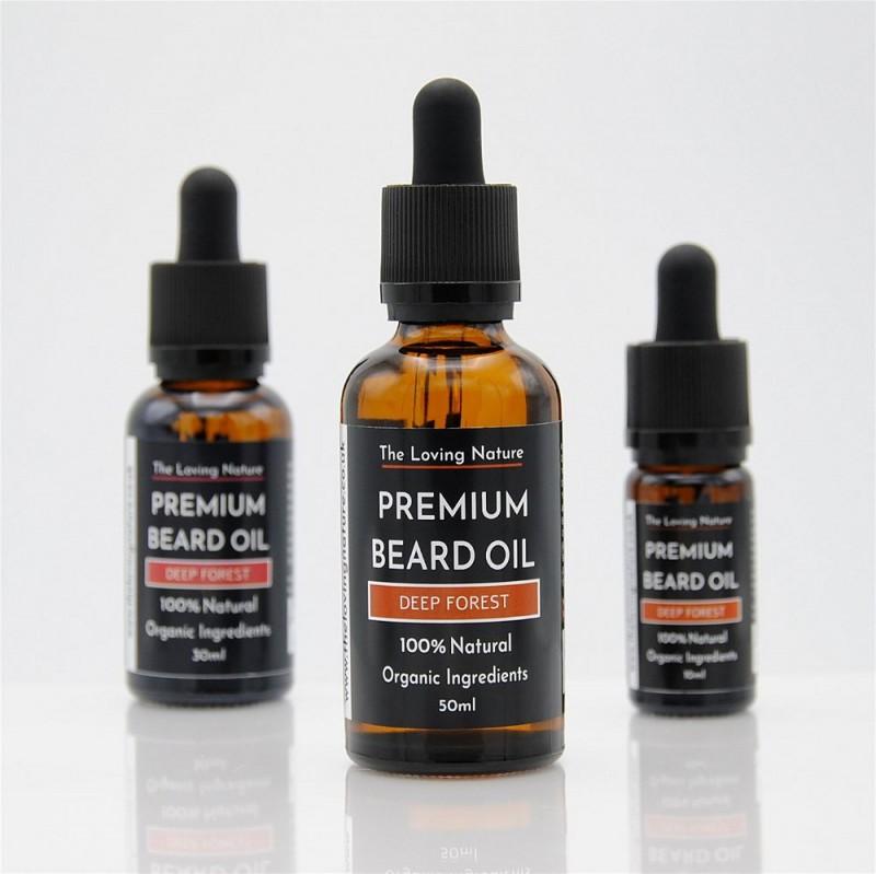 All Natural Premium Beard Oil - Deep Forest