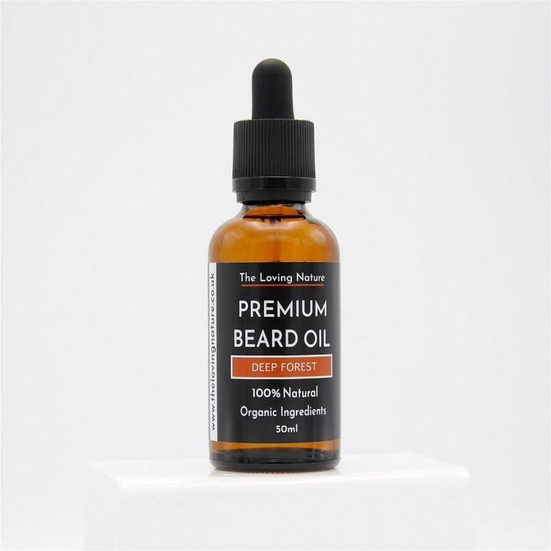 Cedarwood & Vetiver Beard Oil - Deep Forest 2