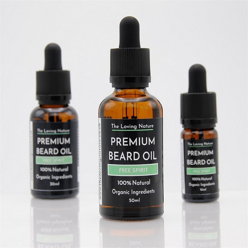 All Natural Premium Beard Oil - Free Spirit