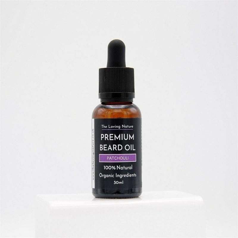 Premium Patchouli Beard Oil - 30ml