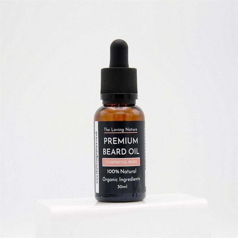 All Natural Premium Beard Oil - Charming Man - 30ml