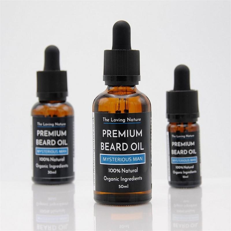 All Natural Premium Beard Oil - Mysterious Man