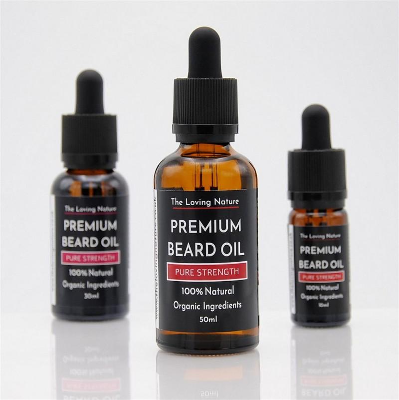 All Natural Premium Beard Oil - Pure Strength