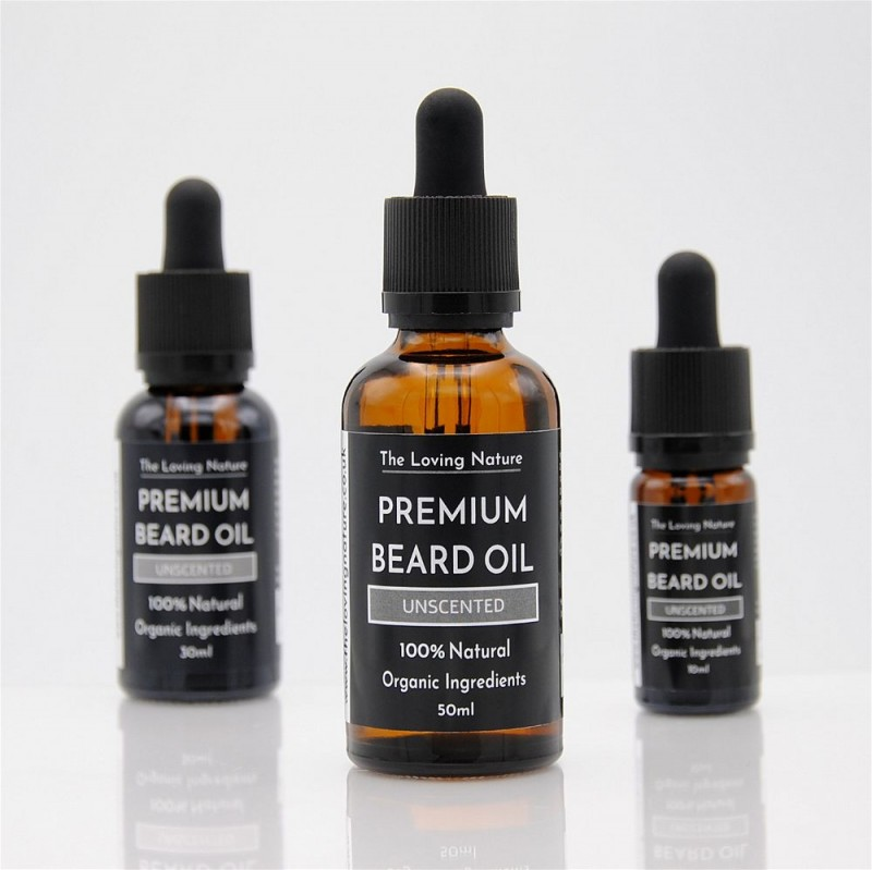 All Natural Premium Beard Oil - Unscented