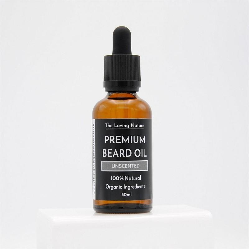 Unscented Beard Oil For Sensitive Skin 2
